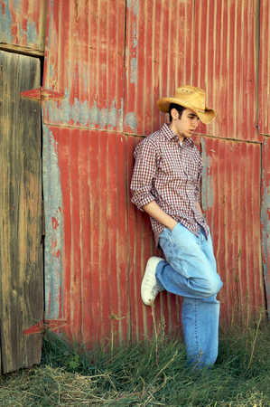 Ranch Hand Stock Photo