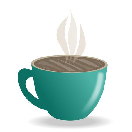 motivating: Tea|coffee time motivating illustration Illustration