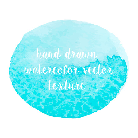 Hand drawn watercolor vector abstract texture for your design