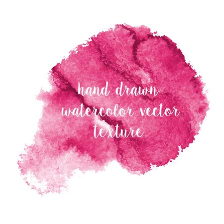 leaden: hand drawn watercolor vector blobs and strokes