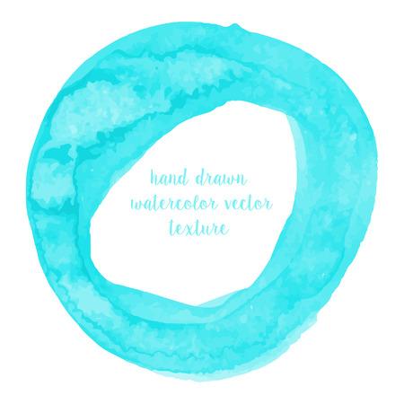 leaden splash: Hand drawn watercolor vector texture, blobs and strokes