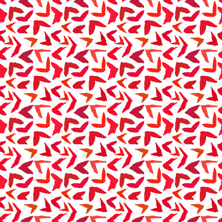 accents: Vector seamless pattern. Abstract background with brush strokes. Hand drawn texture with randomly color accents Illustration