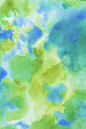 painterly effect: Hand painted hi-res colorful watercolor texture background. Vintage colors. Stock Photo