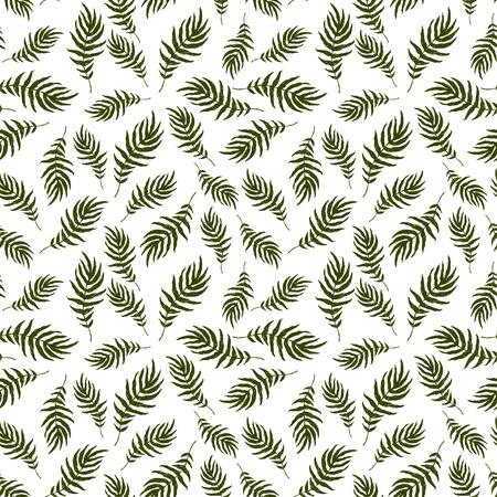 patrón de la hoja sin problemas decorativa estilizada en colores claros y brillantes para fondos de pantalla, álbum de recortes, textil.