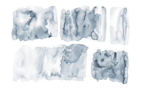 Unique washed background. Hand painted watercolor texture. Stockfoto