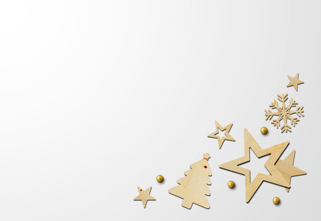 merry christmas and happy new year background with space for text