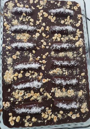 Malaga Dessert So Delicious Sweet Tastty SK1 Stock Photo