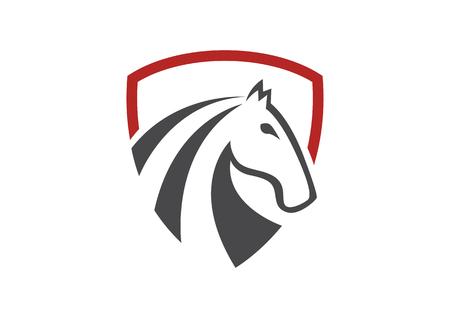 Horse shield 일러스트