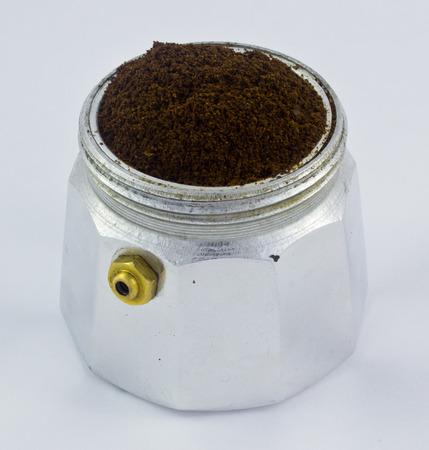 Italian coffee maker bottom