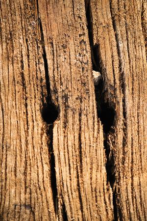 sleeper: Wooden texture from an old used railway sleeper
