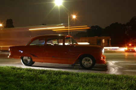 photgraphy: 1955 Chevy Woodward Dream Cruise- Detroit, MI