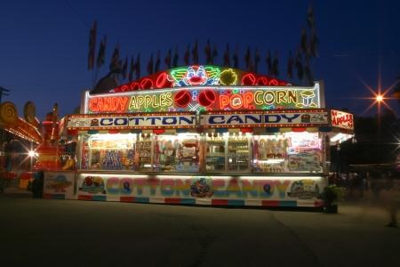 concession: Michigan State Fair concession stand- Detroit, MI