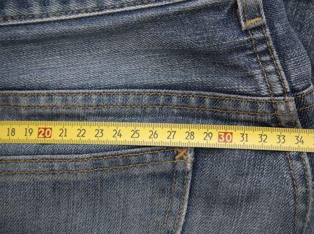 Jeans mesure photo