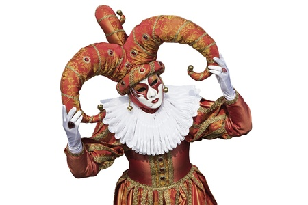 carnevale: Joker Stock Photo