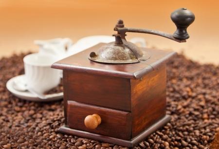 młynek do kawy: mÅ'ynek do kawy Zdjęcie Seryjne