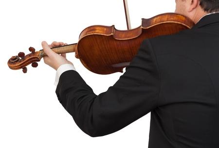 musician plays viola