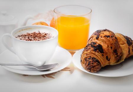 croissants: Cappuccino