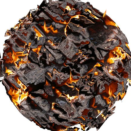 planet which explodes Stock Photo - 2470883