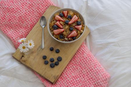 healt: Breakfast on the bed