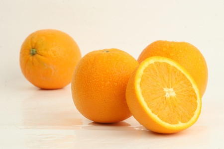 fresh orange fruit Reklamní fotografie