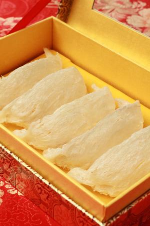 Raw Bird Nest in Elegant Gift Box  photo
