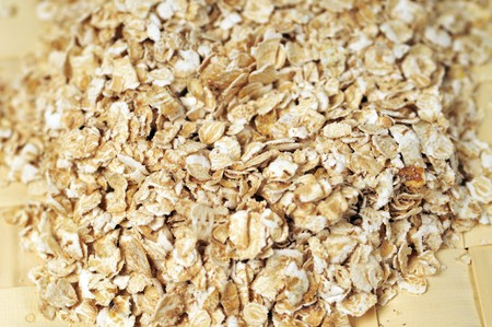 Some oat flakes for your tastfull breakfast Stock Photo - 4474222
