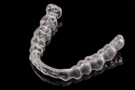 splint: férula dental Foto de archivo