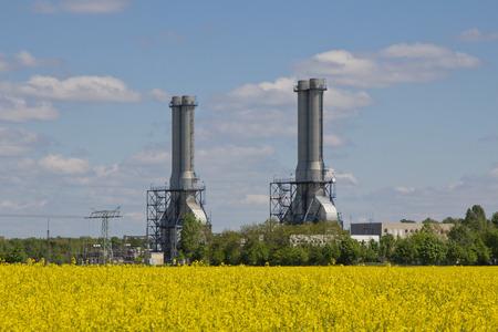 central el�ctrica: Power Plant Foto de archivo