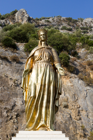 Statue of Virgin Mary, Ephesus, Turkey
