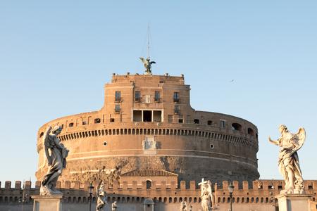 Castel SantAngelo in Rome, Italy Editorial