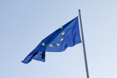 European flag Stock Photo
