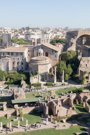 Roman Forum, Rome, Italy Archivio Fotografico