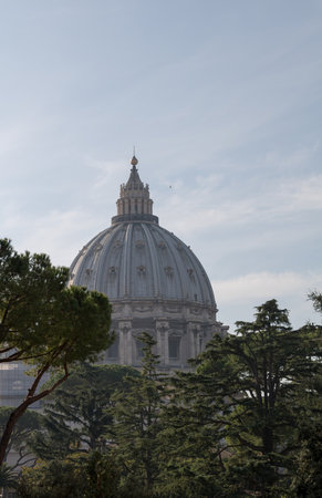Saint Peters Basilica - Vatican City State Stock Photo