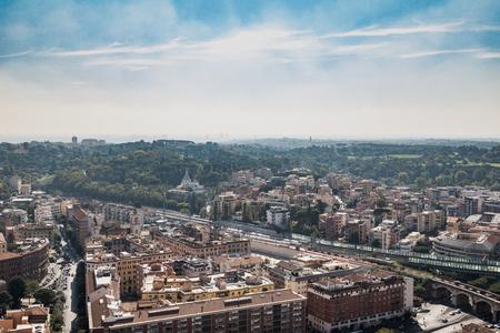 panoramic view of Rome Archivio Fotografico