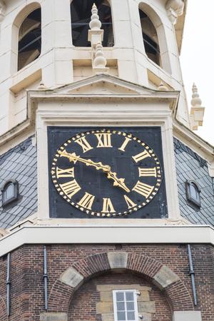 Montelbaanstoren in Amsterdam, Netherlands