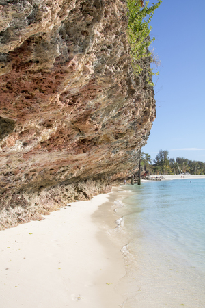 Zanzibar Beach Archivio Fotografico