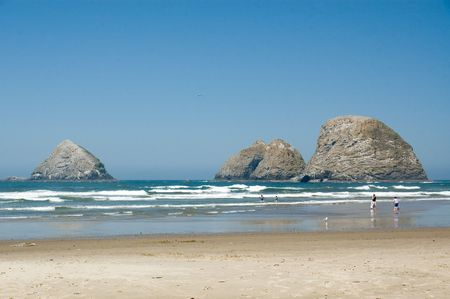 Three Arch Rocks, Oceanside Beach, Oregon