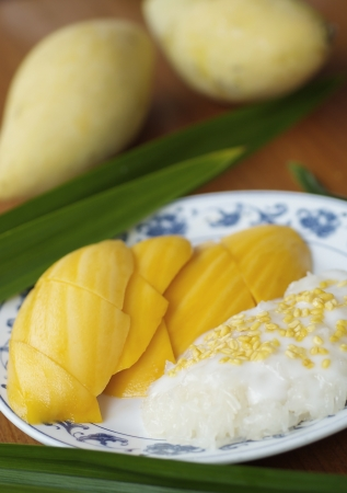 This is famous popular and delicious dessert for Thai and Foreigner. Once you have try one time can't stop eating it. Stock Photo - 14925994