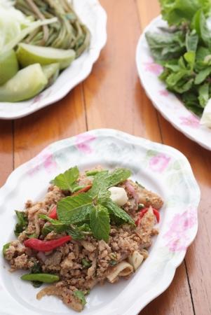 Laab is Esan food one kind of popular menu in Thailand