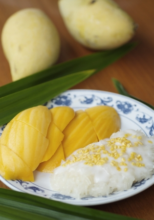 This is famous popular and delicious dessert for Thai and Foreigner. Once you have try one time cant stop eating it.