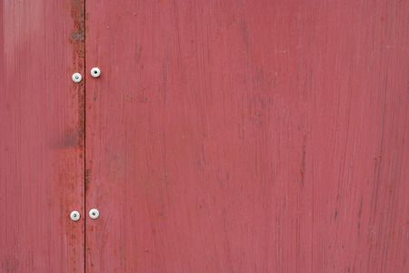 texture of a red fence door image Stock Photo
