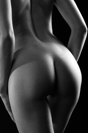 nackte Frauen zurück und Po Ansicht