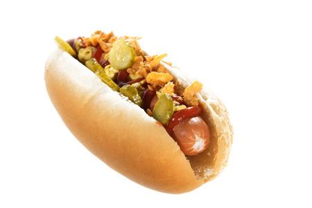 brighter: hot dog on brighter underground