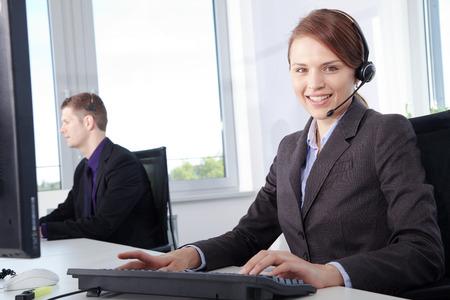 friendly smile Callcenter Agent Women
