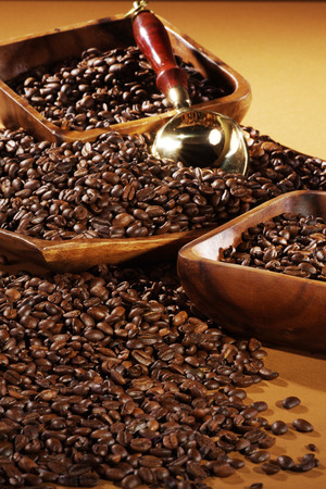 diat product: coffee beans served in basket
