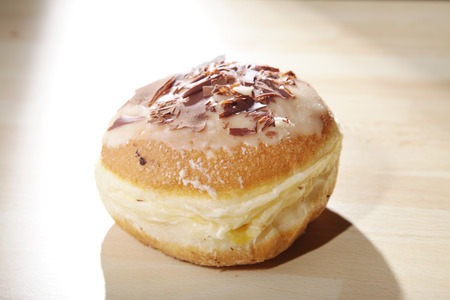 cake factory: donut presents on white