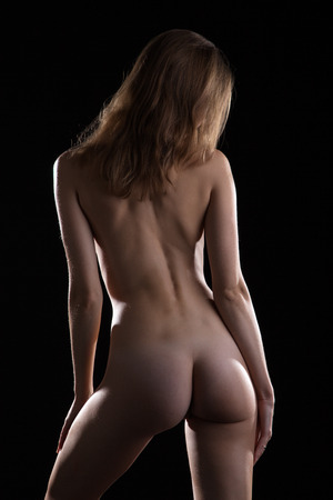 mujeres desnudas de espalda y la vista a tope