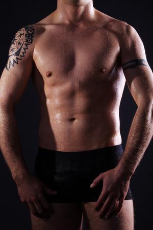 schöner Mann Körper