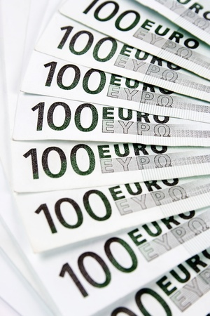 Euro banknotes money photo