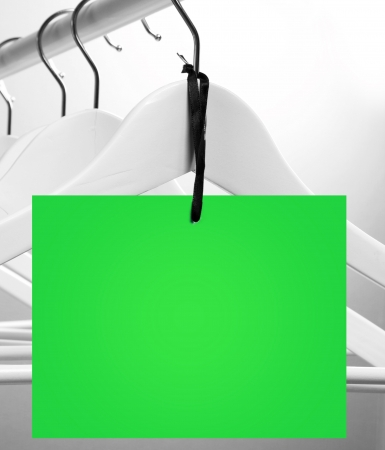 Close up of a colorful sale label concept photo